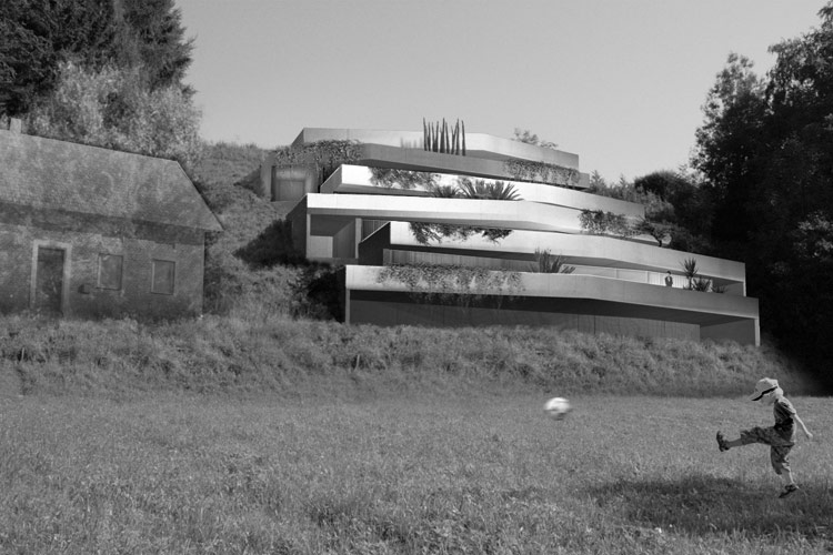 Terrassenhaus-Tolleterau